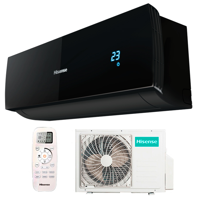 Сплит системы Hisense серии BLACK STAR DC Inverter